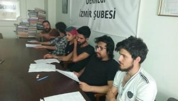 Vicdani ret açıklamaları ve basın açıklaması (2017-25 Mayıs-İzmir)