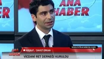 Avukatımız Davut Erkan, Karadeniz TV Ana Haber'de