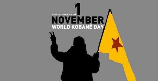 Kobanê için küresel seferberlik (1 Kasım, 14.00, Tünel)