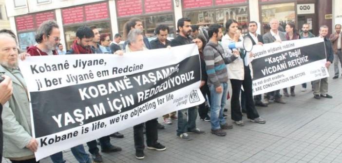 Vicdani Retçiler Kobanê'nin Yanında Direnişin Safında – Merve Arkun