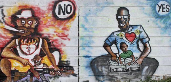 Savaştan 'yorulan' Güney Sudanlılar, barış isteklerini haykırmak için sanatı seçiyor