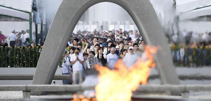 Atom bombası atılmasının 72'nci yıldönümünde Hiroşima'da ölen 140 bin kişi anıldı