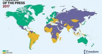 """Türkiye ilk kez """"özgür olmayan"""" ülkeler kategorisine düşürüldü"""