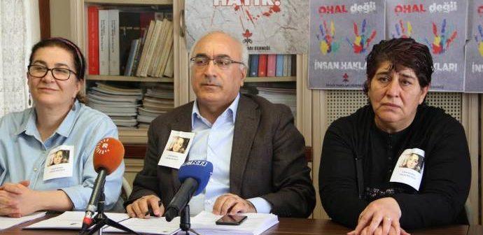 """İHD 2017 Raporu: """"Türkiye'de şu an OHAL'in uzatılması için hiçbir sebep yok"""""""