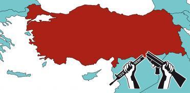 Türkiye'yi ziyaret eden WRI heyeti ile görüşen savaş karşıtları, Türkiye'ye yapılan silah ihracatına son verilmesini istedi