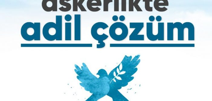 """""""Askerlikte adil çözüm"""" için İMZA KAMPANYASI başlatıldı! (Röportaj)"""