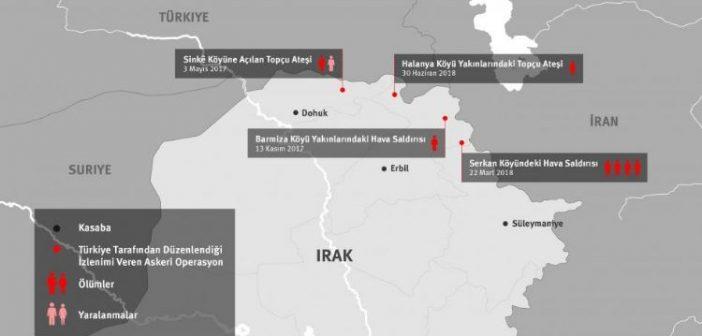 HRW: TSK'nın Kuzey Irak operasyonlarında en az 7 sivil öldü, savaş hukuku ihlal edilmiş olabilir