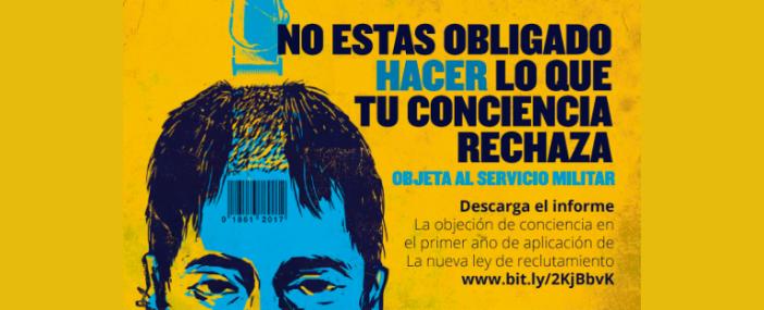 Kolombiya vicdani ret yasası bir yıl sonra halka açık bir formda değerlendirildi