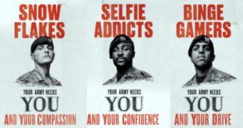 'Selfie bağımlıları: İngiliz ordusunun size ihtiyacı var'