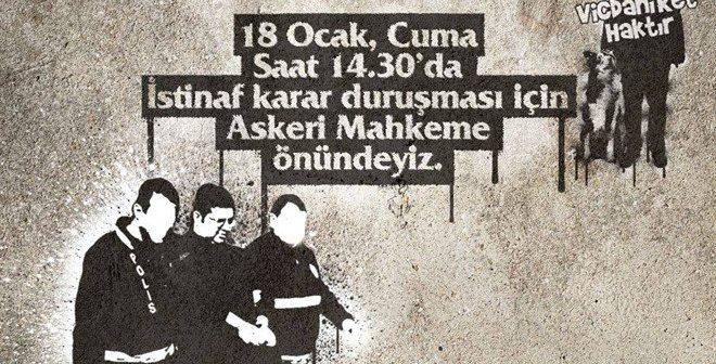 Vicdani retçi Karapaşaoğlu istinaf duruşması için Askeri Mahkeme'ye getirildi