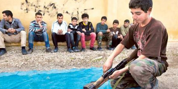 """""""Dünya üzerinde 420 milyon çocuk savaş bölgelerinde yaşıyor"""""""