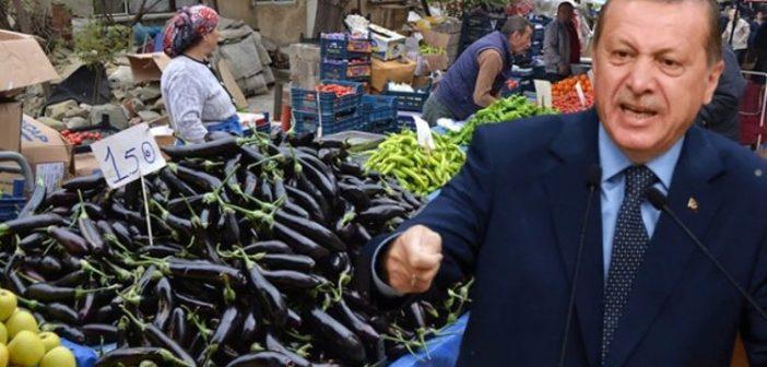 Savaşta sıkılan kurşunun maliyeti patlıcanın fiyatında ortaya çıkar