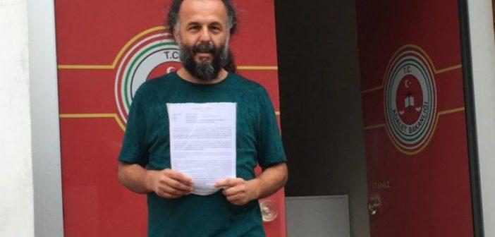 Vicdani retçi Yazıcı'ya yeni bir dava: 3 Ekim'de hâkim karşısına çıkacak