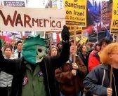 """Amerikalılar Savaşa Karşı Sokaklarda: """"İran ile savaşa hayır"""""""