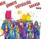 8 Mart afişi savaş karşıtı ifade nedeniyle toplatıldı