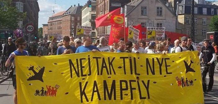 Danimarka'da savaş karşıtları, ABD'den F-35 savaş uçağı alımının iptali için kampanya başlattı