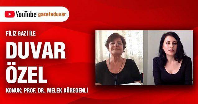 """Prof. Dr. Melek Göregenli: """"Vicdani reddi çok önemli buluyorum"""" (Video)"""