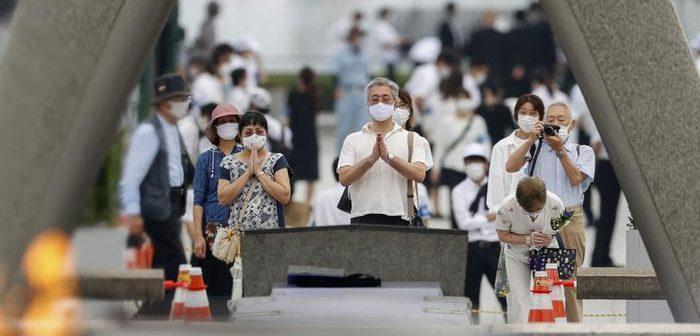 """Hiroşima'nın 75. yılında Abe'den mesaj: """"Japonya, nükleer silahsız bir dünya için elinden geleni yapacak"""""""