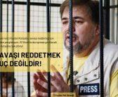 Risk Altındaki Vicdani Retçi Ruslan Kotsaba'nın Yanındayız