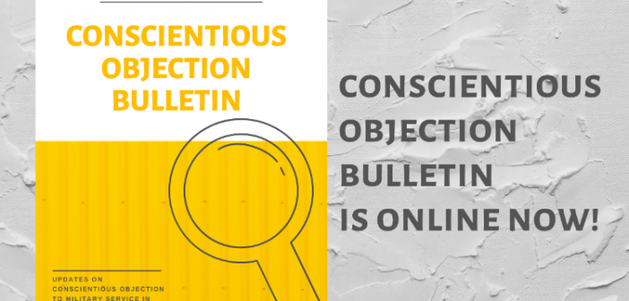 The First Issue of the Conscientious Objection Bulletin Translated and Published