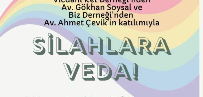 Vicdani Ret Derneği, 5. Antalya Onur Haftası'nın Açılış Etkinliğinde
