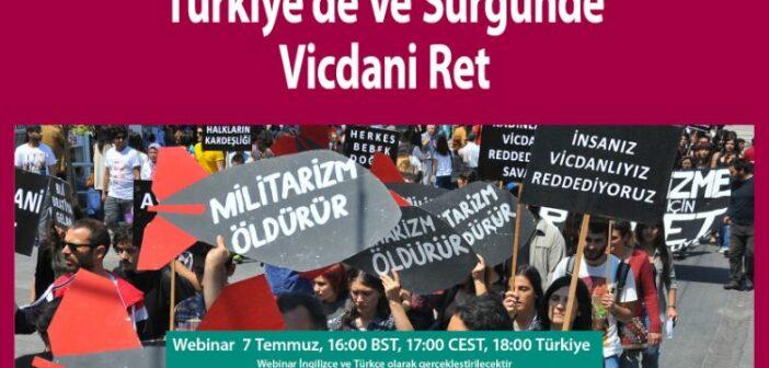 Webinar: Türkiye'de ve Sürgünde Vicdani Ret