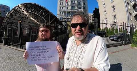 Ukrayna Pasifist Hareketi, Türkiye'de vicdani retçilere yönelik zulmü protesto etti