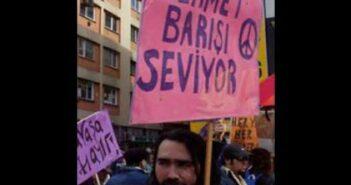 """""""Savaşınız da erkek egemen düzeniniz de sizin olsun, ben yokum, 1 eksik yazın"""" – Mehmet Tarhan"""